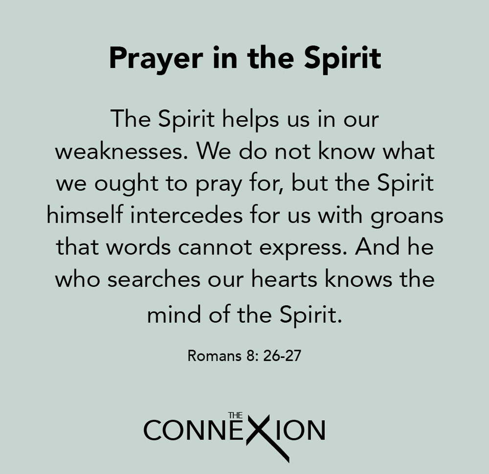Prayer in the Spirit