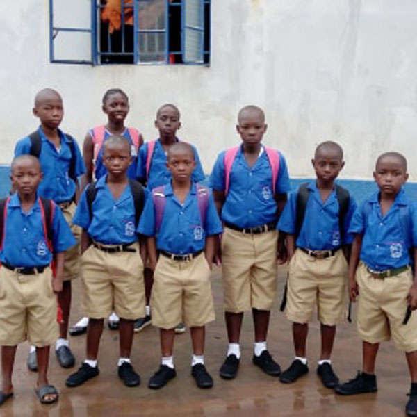 Back to school Sierra Leone