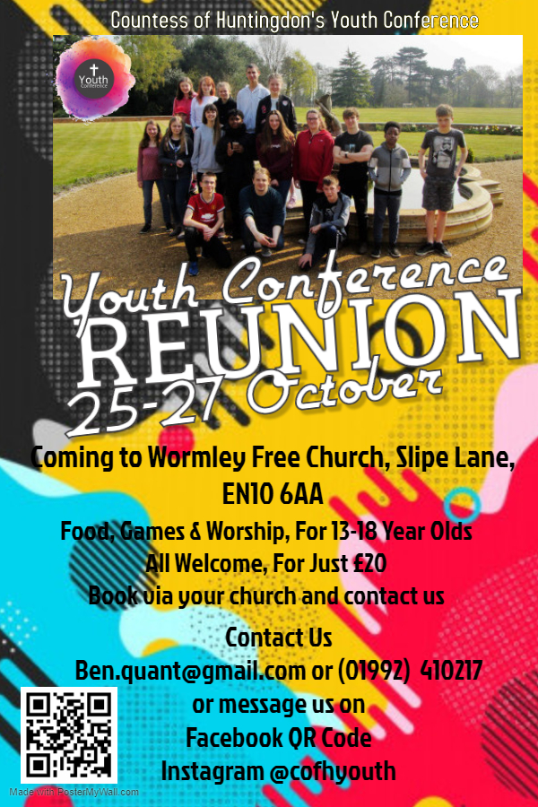 Reminder: Youth Conference Reunion
